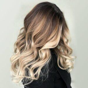 Техники окрашивания для длинных волос