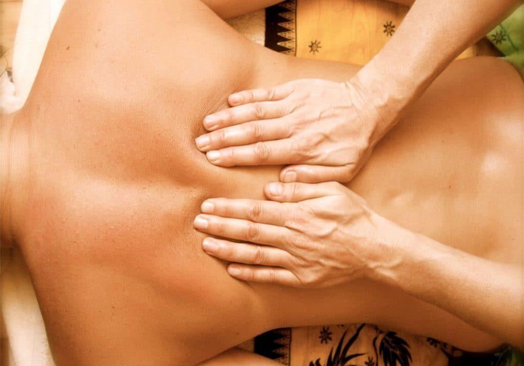 Техники классического массажа спины